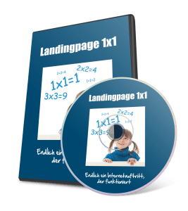Landingpage 1x1 Online-Video-Kurs
