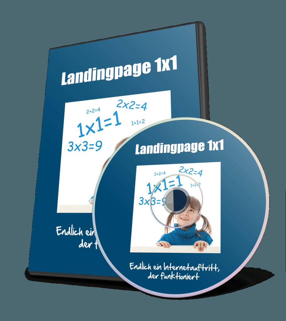 Landingpage 1x1 Online-Video-Kurs