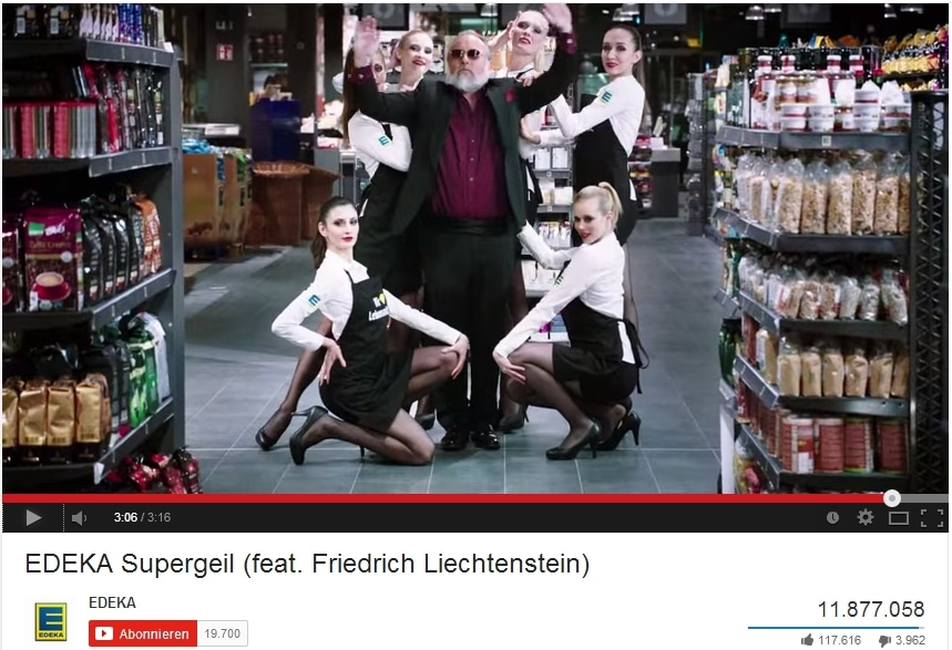 YouTube-Hits Supergeil - Bildquelle: Screenshot YouTube