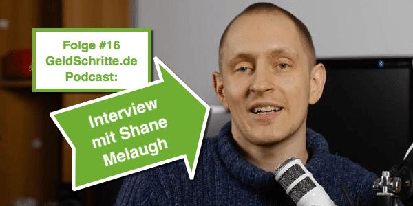 Folge #16: Interview mit Shane Melaugh (Thrive Themes) – GeldSchritte.de Podcast